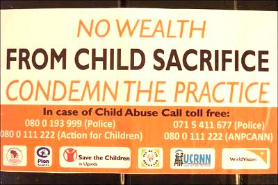 Child Sacrifice Poster